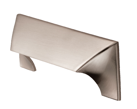 Cebi 'Capori' Cabinet Pull Handle (96mm, 192mm Or 320mm C/C), Satin Nickel - FTD935SN
