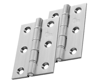 Carlisle Brass 3 Inch Double Washered Hinges, Satin Chrome - HDSSW2SC (sold in pairs)
