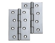 Carlisle Brass 4 Inch Double Washered Hinges, Polished Chrome   HDSW2CP  (sold In Pairs