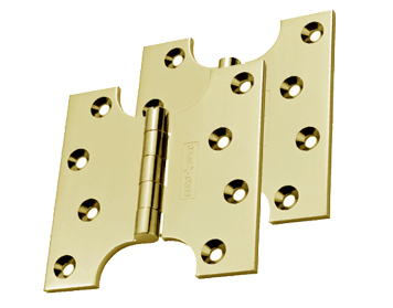 Carlisle Brass 4 Inch Parliament Hinges, Polished Brass - HIN242PB (sold in pairs)