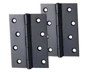 Carlisle Brass 3 Or 4 Inch Butt Hinges, Black Finish - HINFPPCB (sold in pairs)