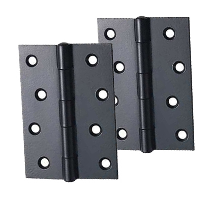 Carlisle Brass 3 Or 4 Inch Butt Hinges, Black Finish   HINFPPCB (sold In