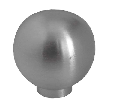 Jedo Collection Ball Shaped Cupboard Knob Without Rose (20mm, 25mm OR 30mm), Polished Or Satin Stainless Steel - JH8361