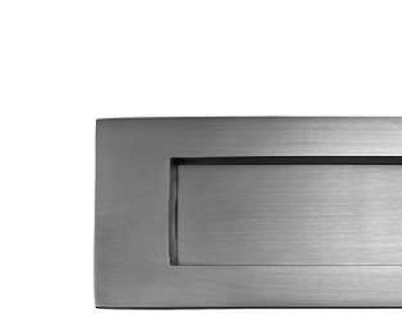 SATIN STAINLESS STEEL LETTER PLATE - JSS3009