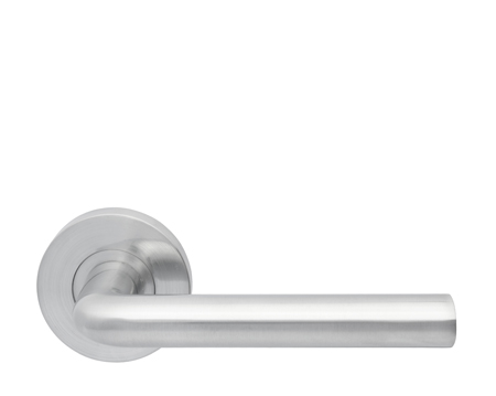 Excel Jigtech 'Riva' Satin Chrome Door Handles - JTC2225 (sold in pairs)