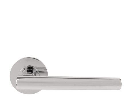 Excel Jigtech 'Eden' Polished Chrome Door Handles - JTF1015 (sold in pairs)