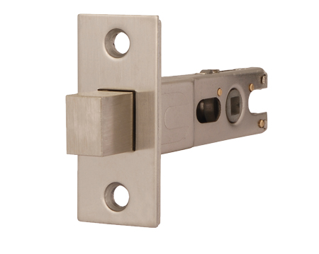 Excel Jigtech 3 Inch Rectangular Deadbolt (Bolt Through), Satin Nickel Finish - JTL4203