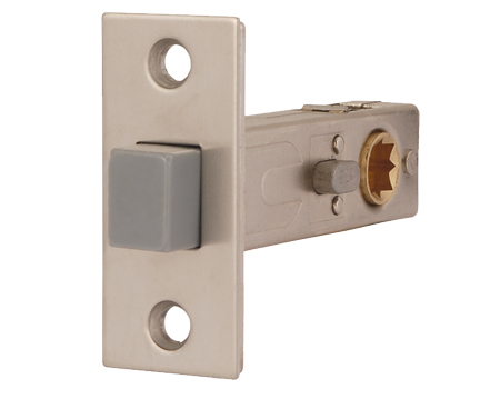 Excel Jigtech 3 Inch Magnetic Privacy Latch (Bolt Through), Satin Nickel Finish - JTL4242