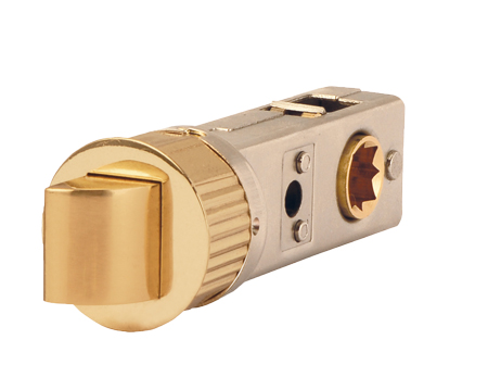 Excel Jigtech 3 Inch Smartlatch (Bolt Through), Polished Brass Finish - JTL4420
