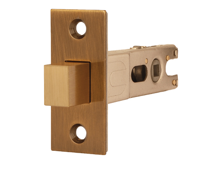 Excel Jigtech 3 Inch Rectangular Deadbolt (Bolt Through), Antique Brass Finish - JTL4503