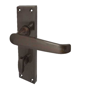 Victorian U0027Straightu0027 Dark Bronze Door Handles   JV30DB (sold In Pairs)