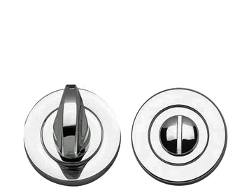 Frelan Hardware Turn And Release, Polished Chrome, Satin Chrome, Polished Brass Or Dual Finish - JV422