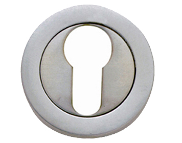 Frelan Hardware 'Euro Profile' Escutcheons, (Various Finishes) - JV503E