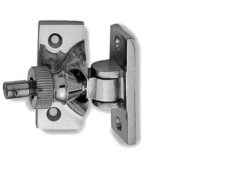Frelan Brighton Window Fasteners (55mm), Polished Chrome, Satin Chrome Or Polished Brass - JV88