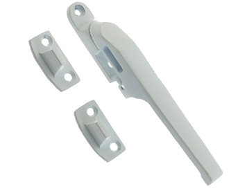 Frelan Hardware Non-Lockable Window Fastener (124mm), White - JW78WH