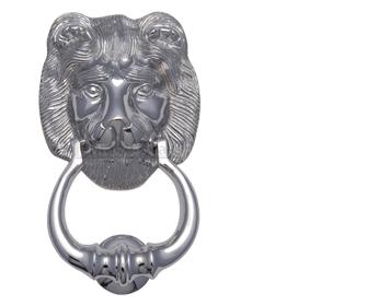 Heritage Brass Lion Head Door Knocker Polished Chrome - K1210-PC  sc 1 st  Door Handle Company & Door Knockers from Door Handle Company