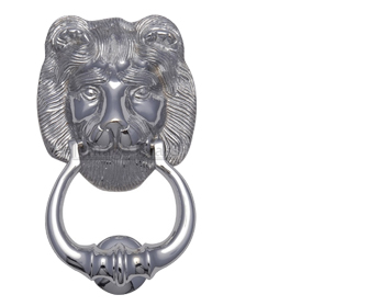 'Lion' Door Knocker, Multiple Finishes - K1210
