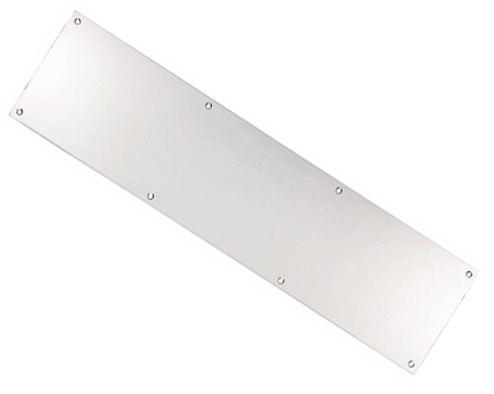Eurospec Kick Plates (Multiple Sizes), Polished  Stainless Steel - KPPBSS