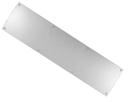 Eurospec Kick Plates (Multiple Sizes), Satin Stainless Steel - KPPSSS