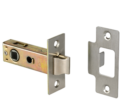 Access Hardware 'Standard' 2.5 Inch Or 3 Inch Tubular Latches (Bolt Through) - Silver Finish Only - L01