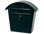 G2 Humber Post Box (370mm x 365mm x 135mm), Green - L21638