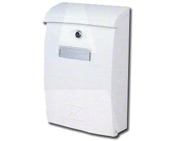 DAD Decayeux 143 Deauville Post Box (390mm x 250mm x 110mm), White - L13009