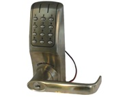 Codelocks CL5010 Battery Operated Digital Lock, Stainless Steel - L14148