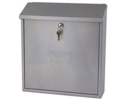G2 Severn Post Box (400mm x 360mm x 100mm), Silver - L21632