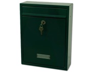 G2 Trent Post Box (340mm x 263mm x 90mm), Green - L21642