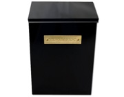 G2 Thames Newspaper Box (400mm x 275mm x 150mm), Black - L24179
