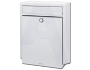 Brabantia B100 Post Box (460mm x 341mm x 165mm), White - L24410