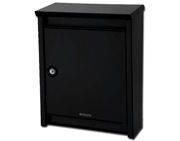 Brabantia B110 Post Box (410mm x 310mm x 150mm), Black - L24415