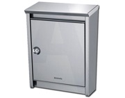 Brabantia B110 Post Box (410mm x 310mm x 150mm), Silver - L24417