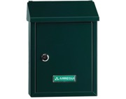 Arregui Smart Mailbox (300mm x 216mm x 80mm), Green - L27340