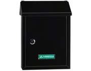 Arregui Smart Mailbox (300mm x 216mm x 80mm), Black - L27341