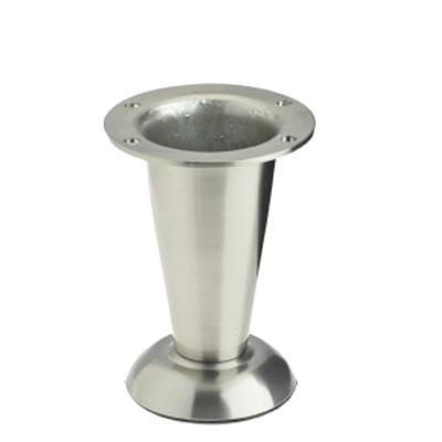 Furniture Legs Brushed Nickel worktop and table legs - door handle company