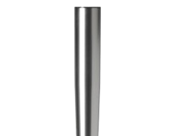 710mm High, Tapered Table Legs, 60mm Dia, Polished Chrome Or Satin Silver - L760YC