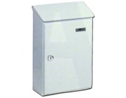 DAD Decayeux 118 Picardi No. 1 Post Box (325mm x 210mm x 85mm), White - L819