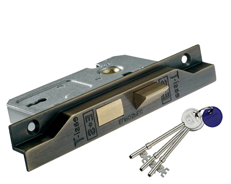 Eurospec Rebated 2 Lever Sash Locks - Various Finishes - LSE5225REB