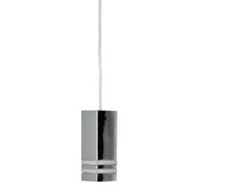 Prima Square Cord Pull (40mm x 15mm x 15mm), Polished Chrome - M695C