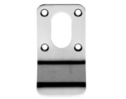 Eurospec Oval Profile Cylinder Pulls - Satin Stainless Steel - OCP1000