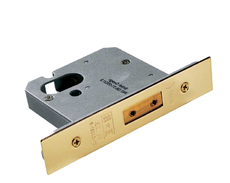 Eurospec 'Architectural' Oval Profile Cylinder Deadlocks, Satin Stainless Steel, Bright Stainless Steel Or (PVD) Brass Finish - ODS50