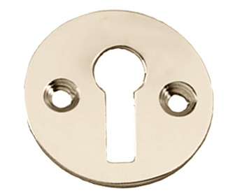 Prima Standard Profile Open Escutcheon, Polished Brass - PB104