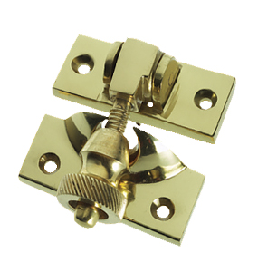 Prima Brighton Sash Window Fastener (57mm x 25mm), Polished Brass - PB135