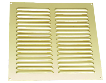 Prima Louvre Vent (Various Sizes), Polished Brass- PB226