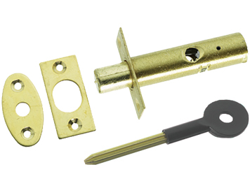 Prima Security Rack Bolt For Windows Or Doors, Polished Brass - PB292