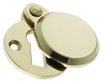 Prima 'Heavy Covered' Standard Profile Escutcheon, Polished Brass - PB624