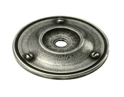 Finesse Traditional Backing Plate (40mm Diameter), Pewter - PBP004
