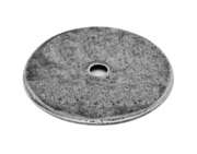Finesse Flat Backing Plate (43mm Diameter), Pewter - PBP007