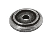 Finesse Small Lipped Backing Plate (21mm Diameter), Pewter - PBP010